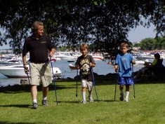 SWIX And EXEL One-Piece Poles Nordic Walking Poles For All Ages And All Fitness Levels Are Custom Fit To Each Individuals Height - 32 Different Lengths.