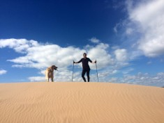 SWIX And EXEL Nordic Walking Poles Are The Best Walking, Hiking and Trekking Poles For Pavement, The Sand Dunes and Mountains