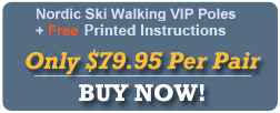 Ski Walking Poles