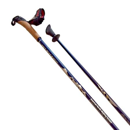 Carbon Nordic Walking Poles With Cork Grips From SWIX of Norway Come In 32 Different Lengths